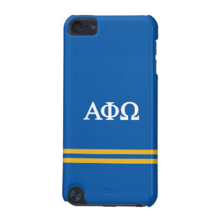 Alpha Phi Omega | Sport Stripe iPod Touch (5th Generation) Case
