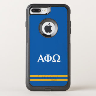 Alpha Phi Omega | Sport Stripe OtterBox Commuter iPhone 7 Plus Case