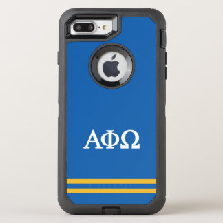 Alpha Phi Omega | Sport Stripe OtterBox Defender iPhone 7 Plus Case
