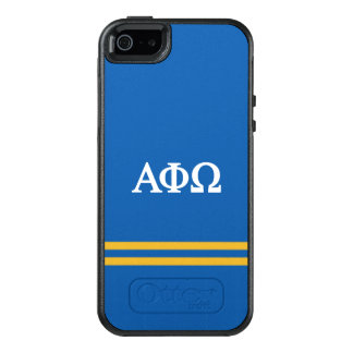 Alpha Phi Omega | Sport Stripe OtterBox iPhone 5/5s/SE Case