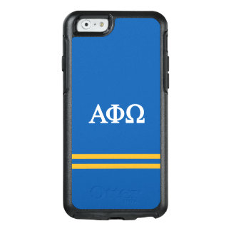 Alpha Phi Omega | Sport Stripe OtterBox iPhone 6/6s Case