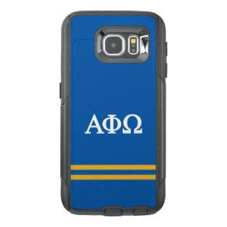 Alpha Phi Omega | Sport Stripe OtterBox Samsung Galaxy S6 Case
