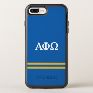 Alpha Phi Omega | Sport Stripe OtterBox Symmetry iPhone 7 Plus Case