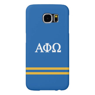 Alpha Phi Omega | Sport Stripe Samsung Galaxy S6 Cases