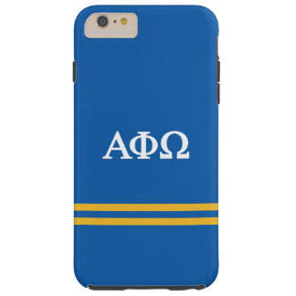 Alpha Phi Omega | Sport Stripe Tough iPhone 6 Plus Case