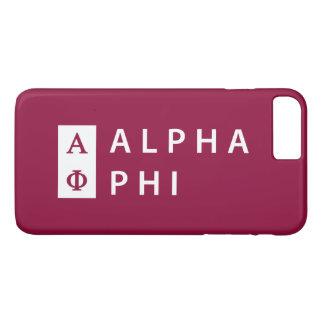 Alpha Phi | Stacked iPhone 8 Plus/7 Plus Case