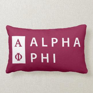 Alpha Phi | Stacked Lumbar Cushion