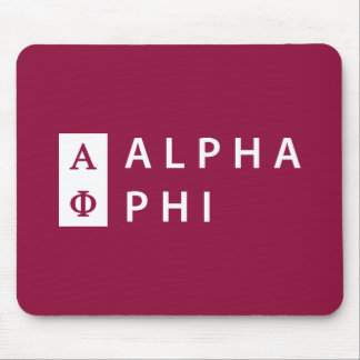 Alpha Phi   Stacked Mouse Mat