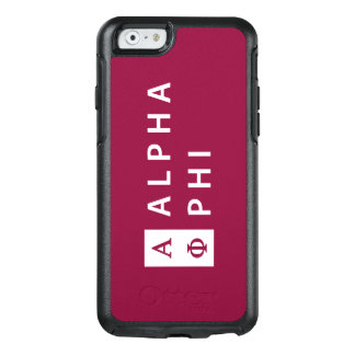 Alpha Phi | Stacked OtterBox iPhone 6/6s Case