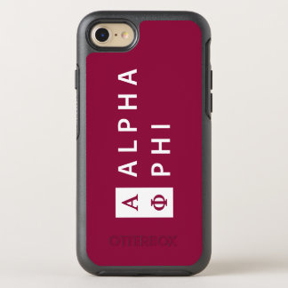 Alpha Phi | Stacked OtterBox Symmetry iPhone 8/7 Case