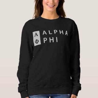 Alpha Phi | Stacked Sweatshirt