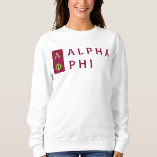 Alpha Phi | Stacked Sweatshirt