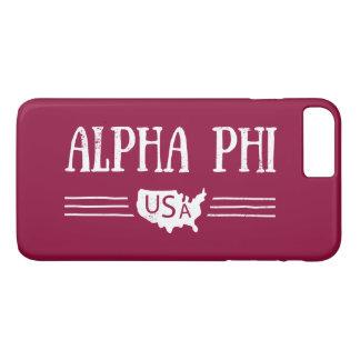 Alpha Phi USA iPhone 8 Plus/7 Plus Case