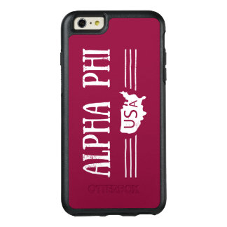 Alpha Phi USA OtterBox iPhone 6/6s Plus Case