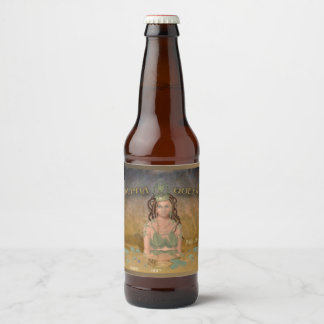 Alpha Queen (Name and Style) Beer Bottle Label