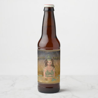 Alpha Queen (name only) Beer Bottle Label
