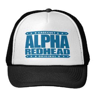 ALPHA REDHEAD - I'm A Fiery Phoenix Rising, Blue Cap
