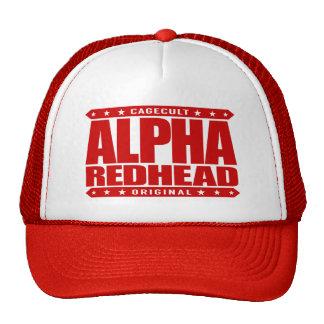 ALPHA REDHEAD - I'm A Fiery Phoenix Rising, Red Cap