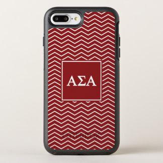 Alpha Sigma Alpha | Chevron Pattern OtterBox Symmetry iPhone 8 Plus/7 Plus Case