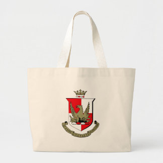 Alpha Sigma Alpha Crest Large Tote Bag