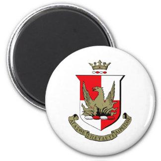 Alpha Sigma Alpha Crest Magnet