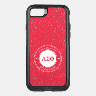 Alpha Sigma Phi | Badge OtterBox Commuter iPhone 7 Case