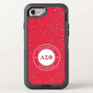 Alpha Sigma Phi | Badge OtterBox Defender iPhone 8/7 Case