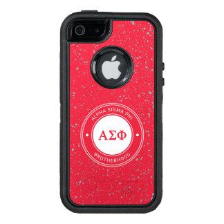 Alpha Sigma Phi | Badge OtterBox Defender iPhone Case