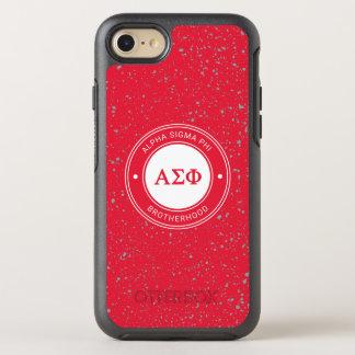 Alpha Sigma Phi | Badge OtterBox Symmetry iPhone 8/7 Case