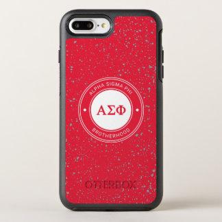 Alpha Sigma Phi | Badge OtterBox Symmetry iPhone 8 Plus/7 Plus Case