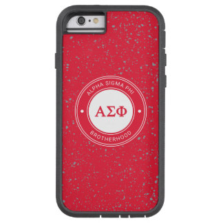 Alpha Sigma Phi | Badge Tough Xtreme iPhone 6 Case