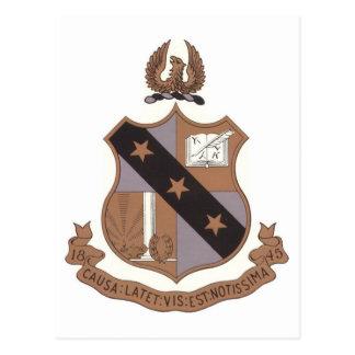 Alpha Sigma Phi Crest Postcard