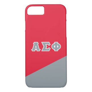 Alpha Sigma Phi | Greek Letters iPhone 8/7 Case