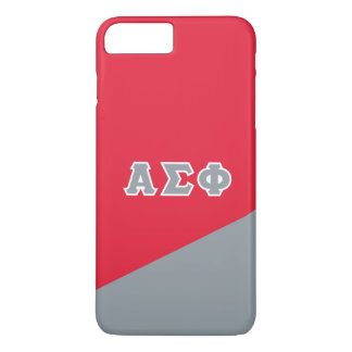 Alpha Sigma Phi | Greek Letters iPhone 8 Plus/7 Plus Case