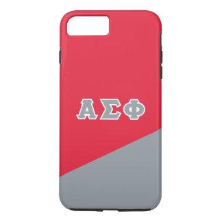 Alpha Sigma Phi | Greek Letters iPhone 8 Plus/7 Plus Case