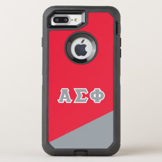 Alpha Sigma Phi | Greek Letters OtterBox Defender iPhone 7 Plus Case
