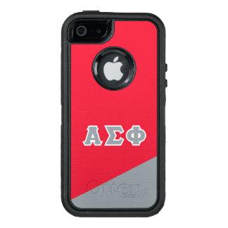 Alpha Sigma Phi | Greek Letters OtterBox Defender iPhone Case