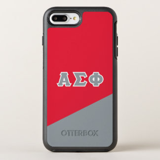 Alpha Sigma Phi | Greek Letters OtterBox Symmetry iPhone 7 Plus Case