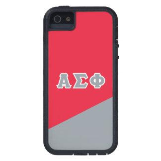 Alpha Sigma Phi   Greek Letters Tough Xtreme iPhone 5 Case