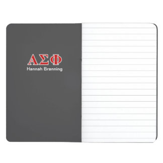 Alpha Sigma Phi Red and Grey Lettes Journal
