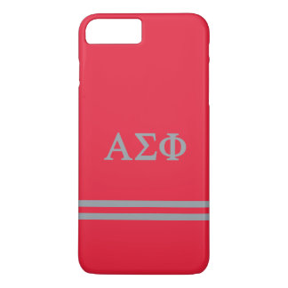 Alpha Sigma Phi | Sport Stripe iPhone 8 Plus/7 Plus Case