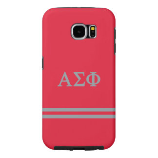 Alpha Sigma Phi | Sport Stripe Samsung Galaxy S6 Cases