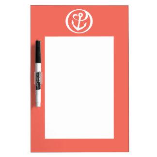 Alpha Sigma Tau Anchor Mark 2 Dry Erase Whiteboard