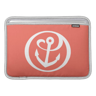 Alpha Sigma Tau Anchor Mark 2 MacBook Sleeve
