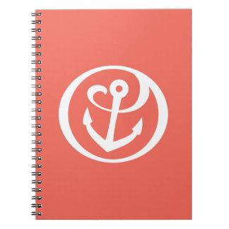 Alpha Sigma Tau Anchor Mark 2 Notebook
