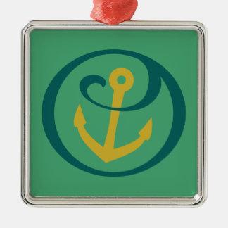 Alpha Sigma Tau Anchor Mark Christmas Ornament