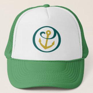 Alpha Sigma Tau Anchor Mark Trucker Hat
