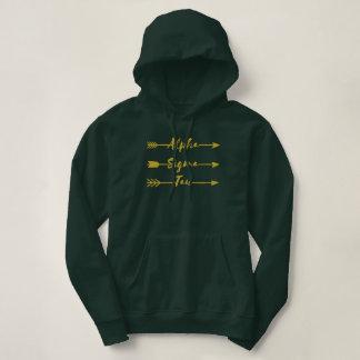 Alpha Sigma Tau Arrow Hoodie
