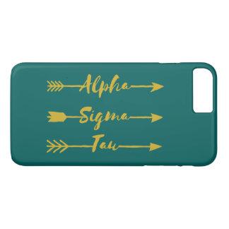 Alpha Sigma Tau Arrow iPhone 8 Plus/7 Plus Case