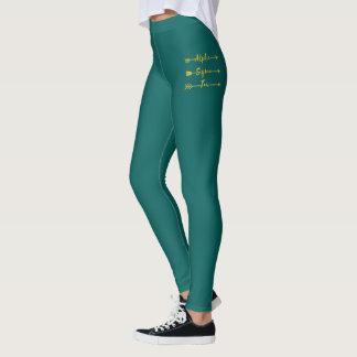 Alpha Sigma Tau Arrow Leggings